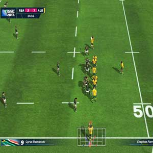Rugby World Cup 2015 PS4 - Russia vs. Australia