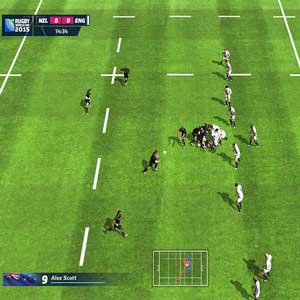 Rugby World Cup 2015 PS4 - New zealand vs. Ebgland