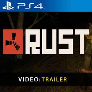 Rust PS4 Trailer Video