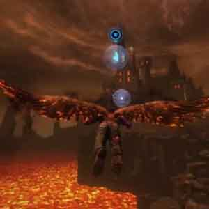 Saints Row Gat Out - Flying Around Hell.