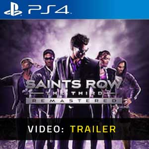Saints Row The Third Remastered PS4 Video Trailer