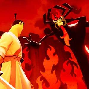 Samurai Jack versus Aku
