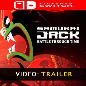 Samurai Jack Battle Through Time trailer video