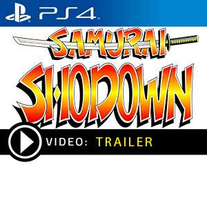 Samurai Shodown PS4 Prices Digital or Box Edition