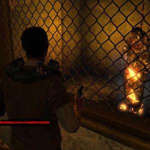 Saw Burning corpse