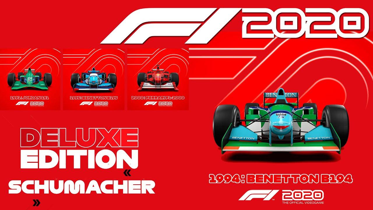 F1 2020 Deluxe Edition Schumacher
