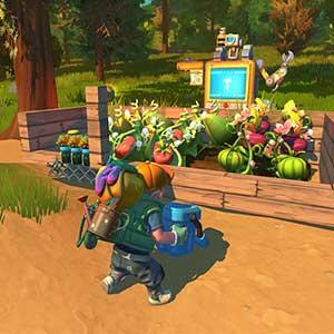 Farmbots working the fields