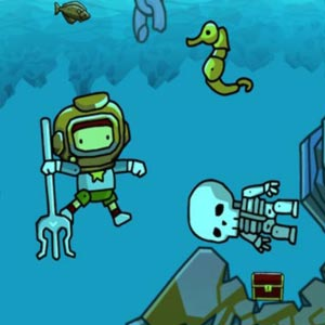 Scribblenauts Unlimited Scuba Diving