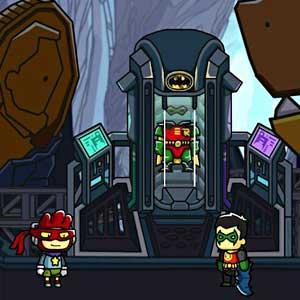 Scribblenauts Unmasked A DC Comics Adventure - Bat Cave