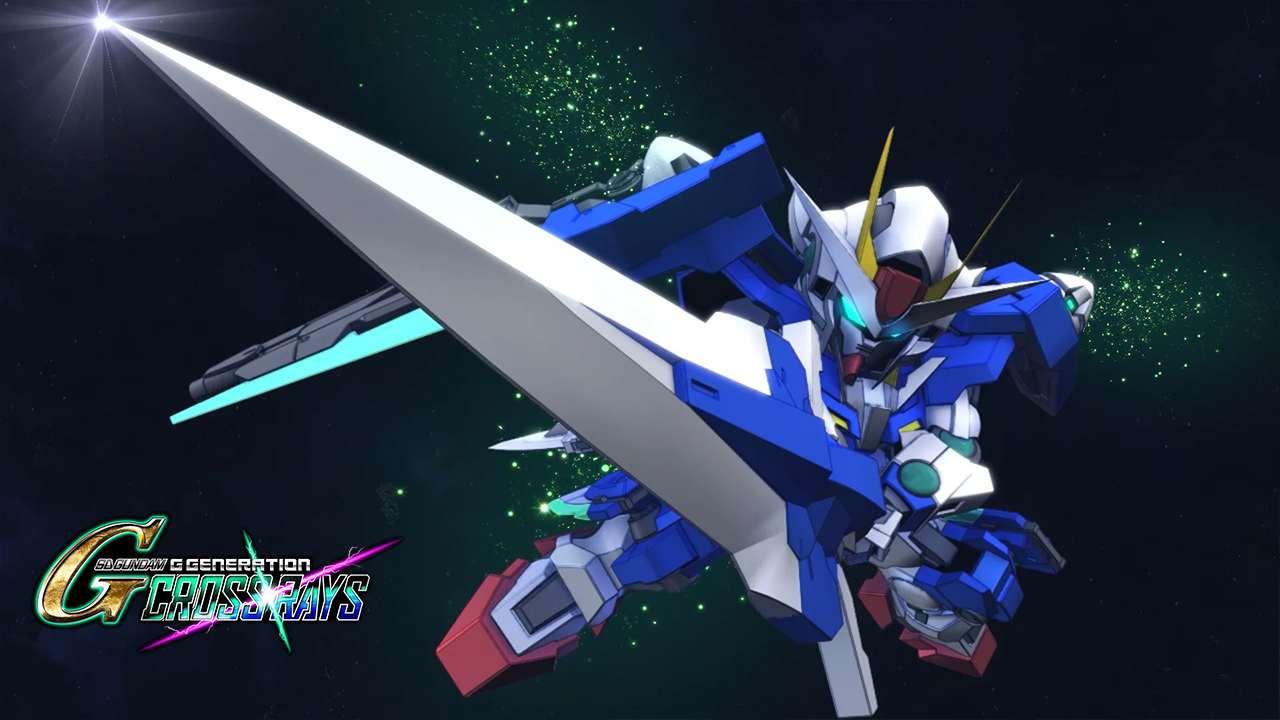 SD Gundam G Generation Cross Rays Banner