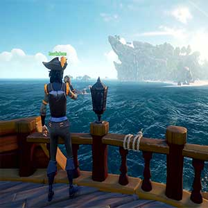 On the Deck Sea of Thieves