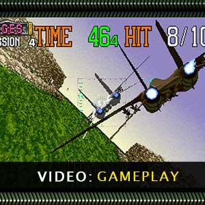 SEGA AGES G-LOC AIR BATTLE Gameplay Video