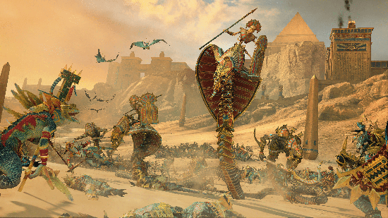 Total War Warhammer 2 Rise of the Tomb Kings Legendary Lords Image