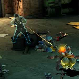 Screenshot: Attacking Enemies