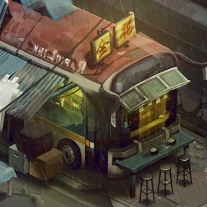 Shadowrun Returns - Slums