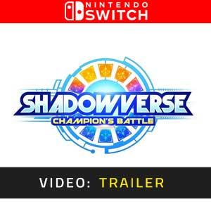 Shadowverse Champions Battle Nintendo Switch Video Trailer