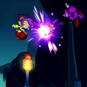 Shantae Hair-Whip Attack