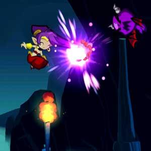 Shantae Hair-Whip Attack