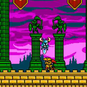 Shovel Knight Boss Battle
