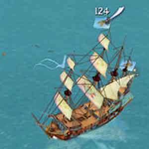 Sid Meiers Pirates! Screenshot: Pirate Ships