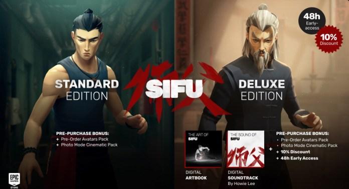 Pre-order Sifu CD Key best price