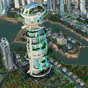 Simcity Elite Mega Tower