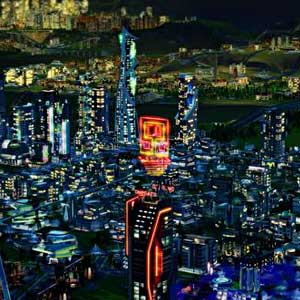 SimCity Cities of Tomorrow - City at Night