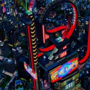 SimCity Cities of Tomorrow - SkyClops Coaster