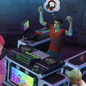 The Sims 4 Get Together Dance club