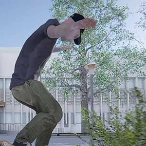 Skater XL nose grind