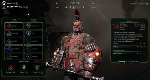 Necromunda: Underhive Wars Skills