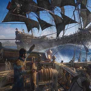 intense naval combat