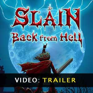 Slain Back from Hell trailer video