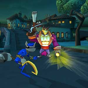 Sly vs the master of enemy