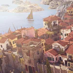 Italian peninsula in Sniper Elite
