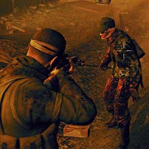 Sniper Elite Nazi Zombie Army 2 - Zombie Target