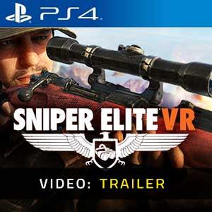 Sniper Elite VR PS4 Video Trailer