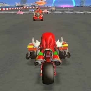 Sonic All Stars Racing Transformed - Motorbike