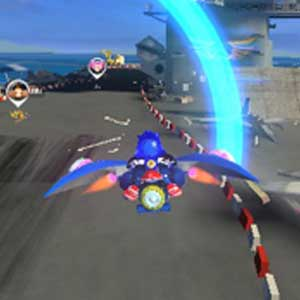 Sonic All Stars Racing Transformed - Jet