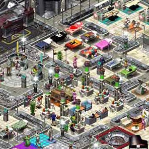Space Colony - City