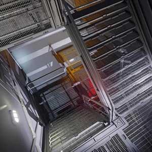 Exit stairways