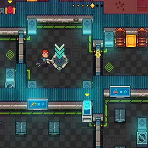 Space Robinson Hardcore Roguelike Action