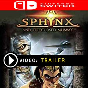 Sphinx and the Cursed Mummy Nintendo Switch Prices Digital or Box Edition