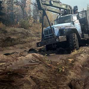 Spintires MudRunner Muddy terrain