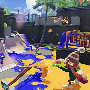 Splatoon Nintendo Wii U Fight