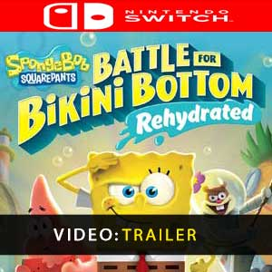 Spongebob SquarePants Battle for Bikini Bottom Rehydrated Nintendo Switch Prices Digital or Box Edition