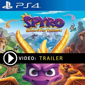 Spyro Reignited Trilogy PS4 Prices Digital or Box Edition