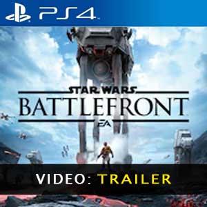 Star Wars Battlefront PS4 Video Trailer