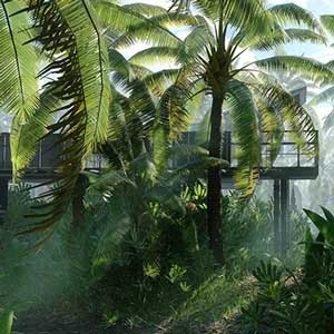The tropical planet of Scarif
