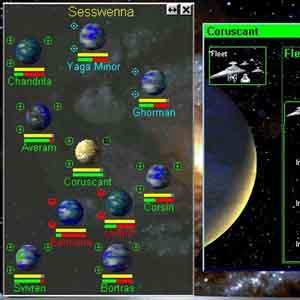 Star Wars Rebellion: Game Interface